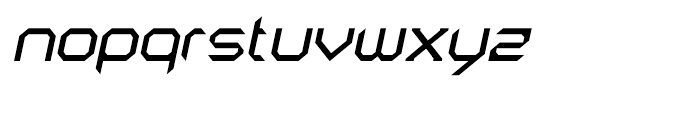 AstroNaut Regular Italic Font LOWERCASE