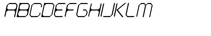 AstroNaut Thin Italic Font UPPERCASE