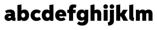 Aspira Black Font LOWERCASE