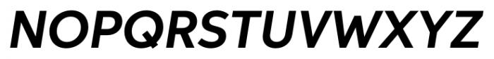 Aspira Bold Italic Font UPPERCASE