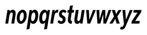 Aspira XXXNar Demi Italic Font LOWERCASE