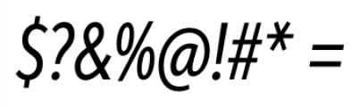 Aspira XXXNar Italic Font OTHER CHARS