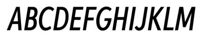 Aspira XXXNar Medium Italic Font UPPERCASE
