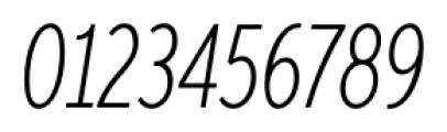 Aspira XXXNar Thin Italic Font OTHER CHARS