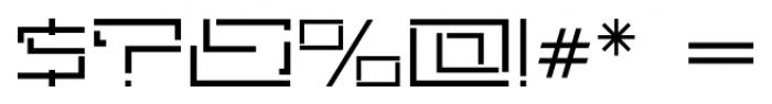 Astrospy JNL Regular Font OTHER CHARS
