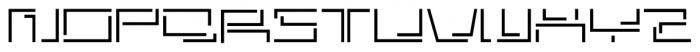 Astrospy JNL Regular Font UPPERCASE