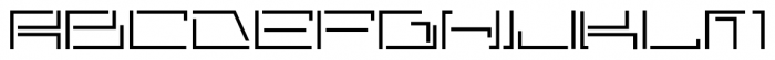 Astrospy JNL Regular Font LOWERCASE