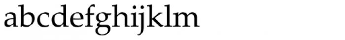 ASV Codar Light Font LOWERCASE