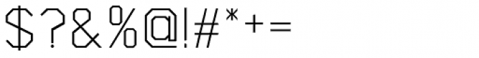 Asbel Light Font OTHER CHARS