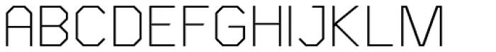 Asbel Light Font UPPERCASE