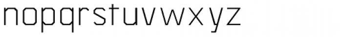 Asbel Light Font LOWERCASE