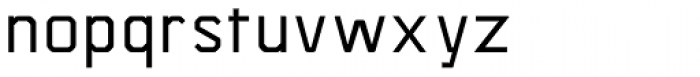 Asbel SemiBold Font LOWERCASE