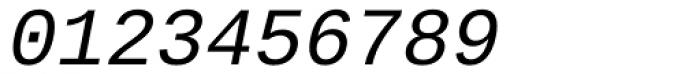Ascender Sans Mono Italic Font OTHER CHARS