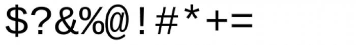 Ascender Sans Mono Font OTHER CHARS