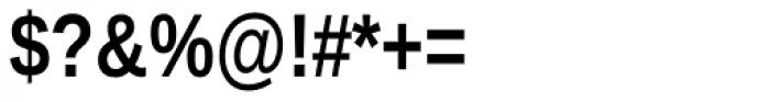 Ascender Sans Narrow Bold Font OTHER CHARS