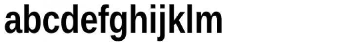 Ascender Sans Narrow Bold Font LOWERCASE