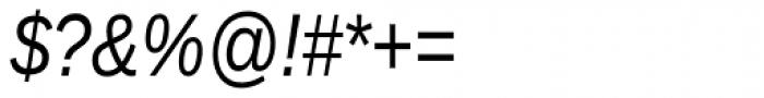 Ascender Sans Narrow Italic Font OTHER CHARS