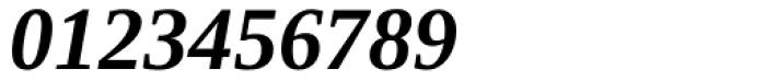 Ascender Serif Bold Italic Font OTHER CHARS