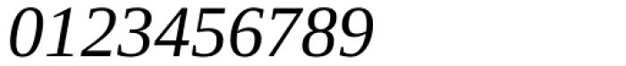 Ascender Serif Italic Font OTHER CHARS