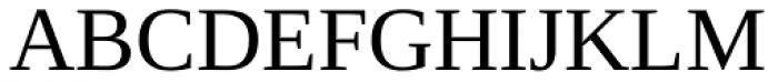 Ascender Serif Font UPPERCASE
