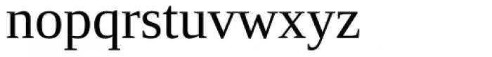 Ascender Serif Font LOWERCASE