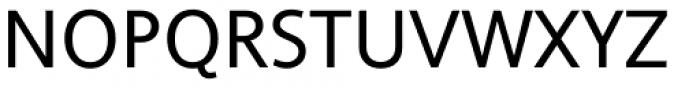 Ascender Uni Regular Font UPPERCASE