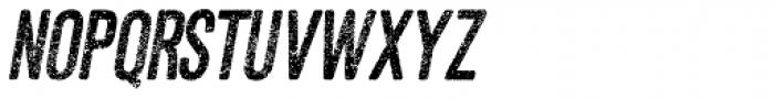 Asfalto Italic Font UPPERCASE