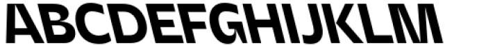 Asgard Bold Backslant Font UPPERCASE