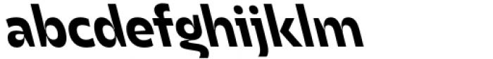 Asgard Bold Backslant Font LOWERCASE