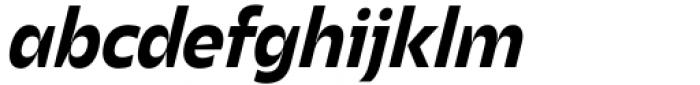 Asgard Bold Italic Font LOWERCASE