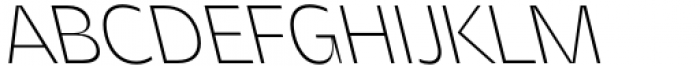 Asgard Extralight Backslant Font UPPERCASE