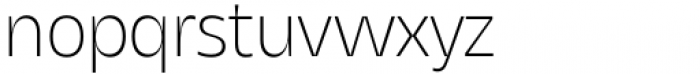Asgard Extralight Font LOWERCASE