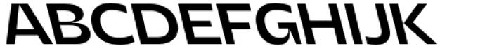 Asgard Fit Medium Backslant Font UPPERCASE