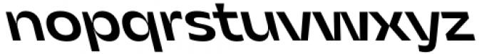 Asgard Fit Medium Backslant Font LOWERCASE