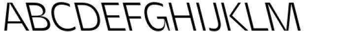 Asgard Light Backslant Font UPPERCASE