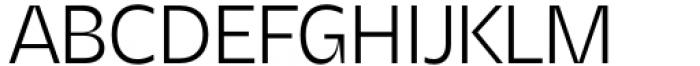 Asgard Light Font UPPERCASE