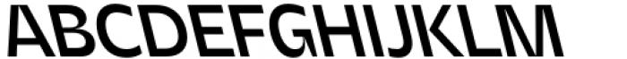 Asgard Medium Backslant Font UPPERCASE