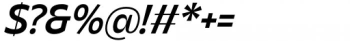 Asgard Medium Italic Font OTHER CHARS