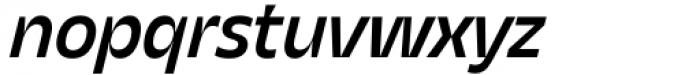 Asgard Medium Italic Font LOWERCASE