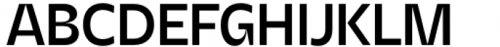 Asgard Medium Font UPPERCASE