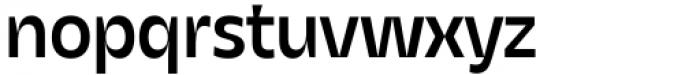 Asgard Medium Font LOWERCASE