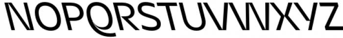 Asgard Regular Backslant Font UPPERCASE
