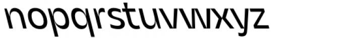 Asgard Regular Backslant Font LOWERCASE