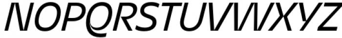 Asgard Regular Italic Font UPPERCASE