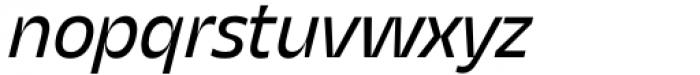 Asgard Regular Italic Font LOWERCASE