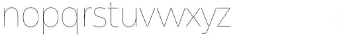 Asgard Thin Font LOWERCASE