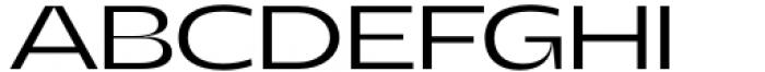 Asgard Wide Light Font UPPERCASE