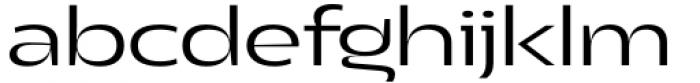 Asgard Wide Light Font LOWERCASE