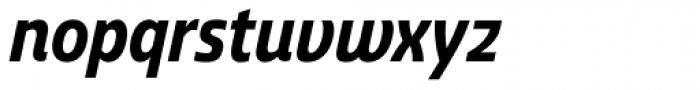 Ashemore Condensed Bold Italic Font LOWERCASE