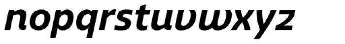 Ashemore Normal Bold Italic Font LOWERCASE